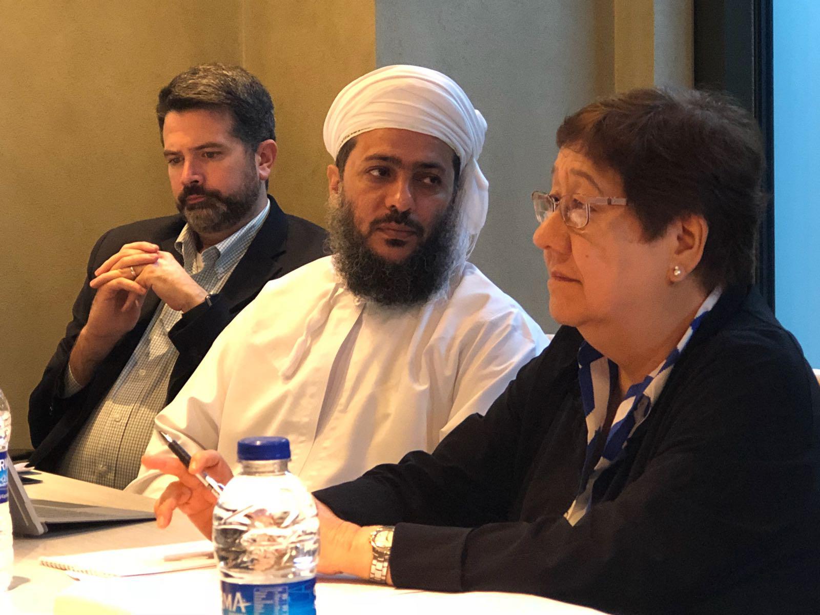 Michael Carrol, Khalid Al Muharrami, Concepcion Pijano