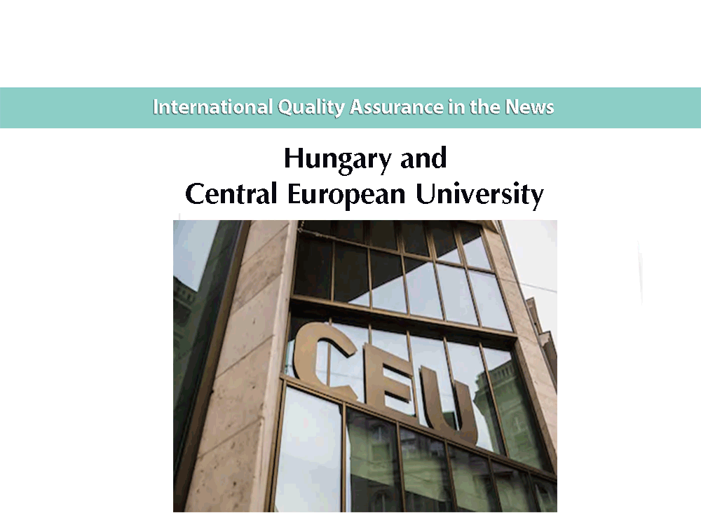 Hungary and Central European University