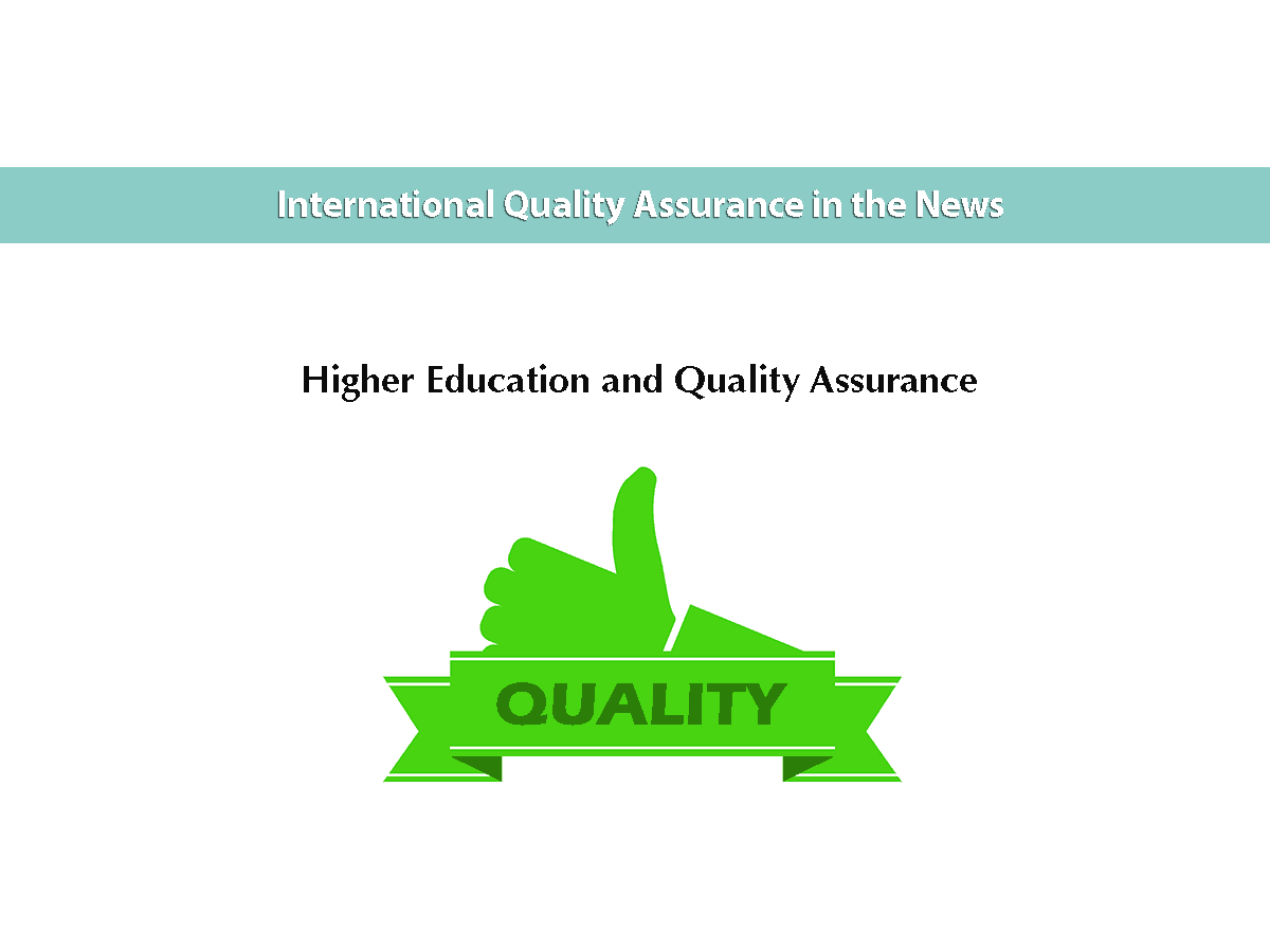 Higher Education and Quality Assurance