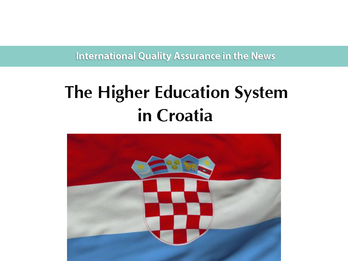 The Higher Education System in Croatia