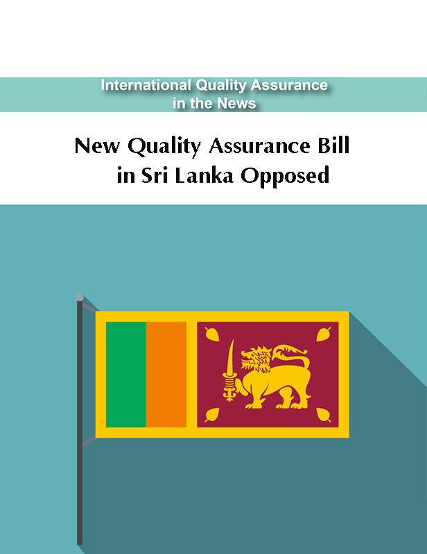 New Quality Assurance Bill in Sri Lanka Opposed