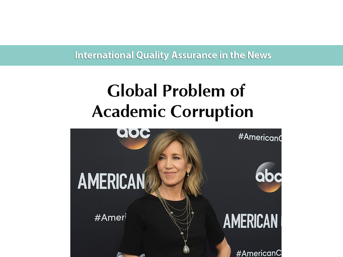 Global Problem of Academic Corruption