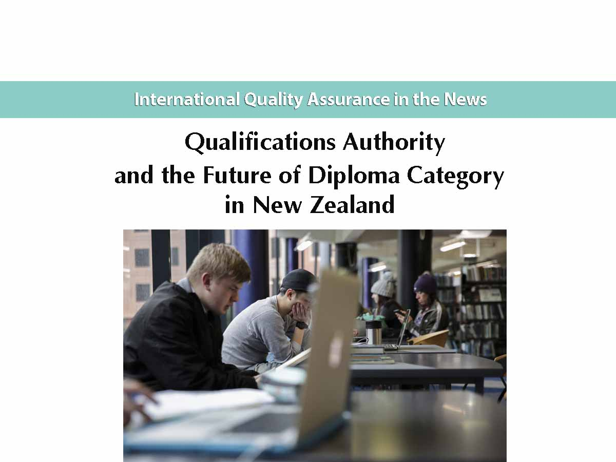 Qualifications Authority and the Future of Diploma Category in New Zealand