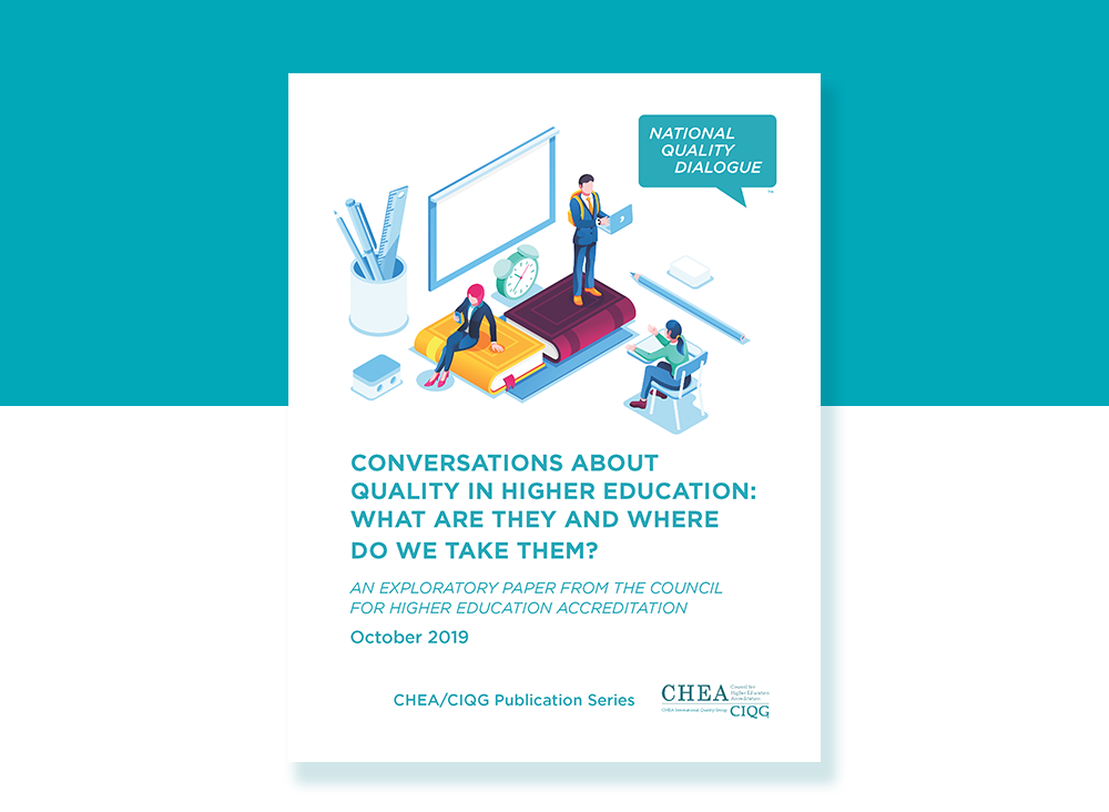 Conversations About Quality In Higher Education: What Are They And Where Do We Take Them?