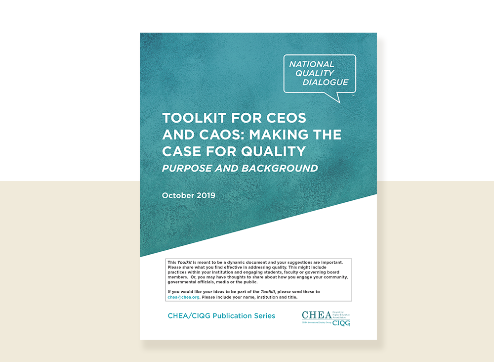 Toolkit for CEOs and CAOs