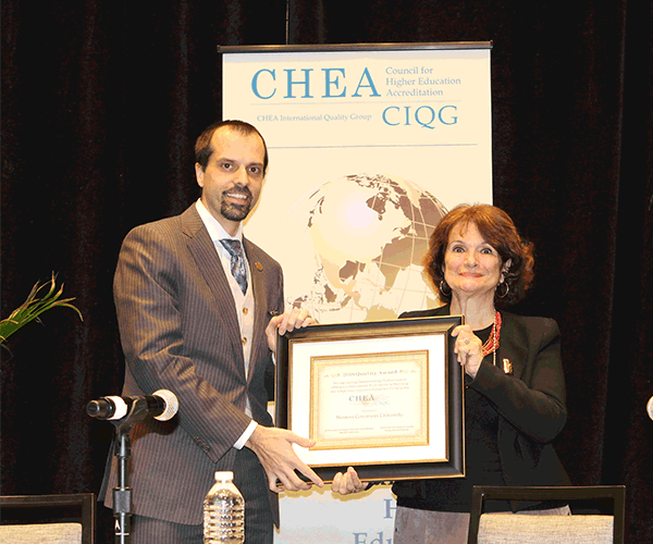 CHEA Announces Winners of the 2018 CIQG Quality Award | Council for